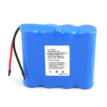 18650 Battery 7.4V 4400mAh battery pack with PCM protection