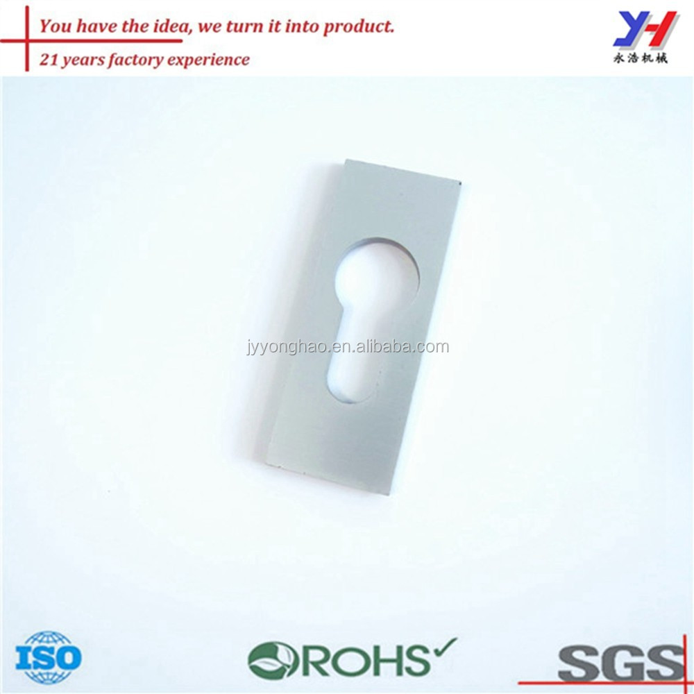 OEM ODM customized small free type stamping lock part with zinc coated