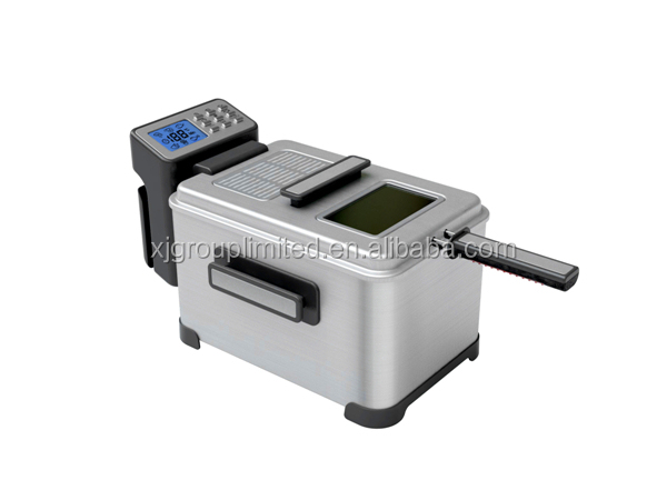 professional 4L deep fryer with LCD display XJ-11301DO