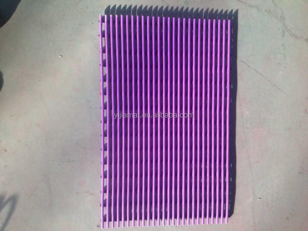 100 pvc plastic tube mat for south korea market buy 100. Black Bedroom Furniture Sets. Home Design Ideas