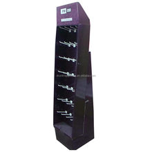 Professional Light Duty Display Stands for Mobile accessories, Display Racks with Hanging Hooks for light weight products