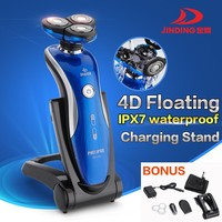 Professional 4D Men's shaver LUXURY design blue(RQ1150)