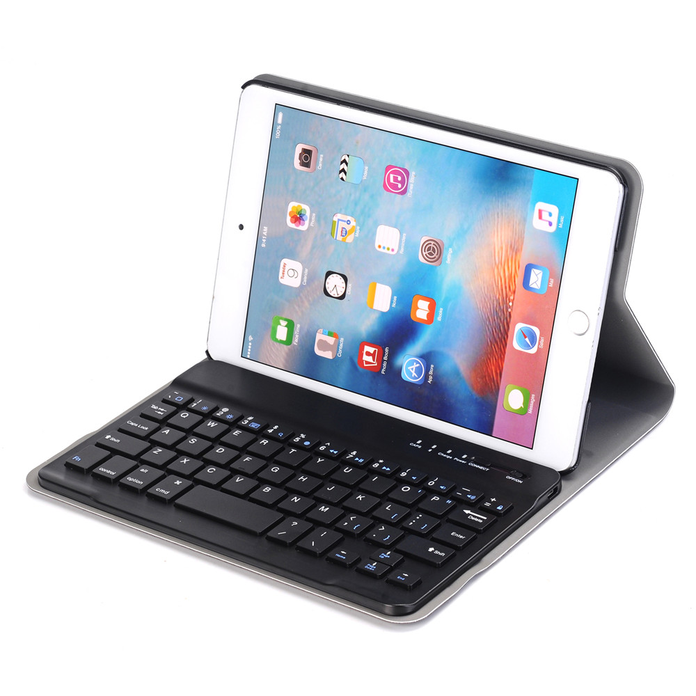 Hot Sell Business Style Portable Wireless Smart Keyboard Case for Apple iPad Mini 4