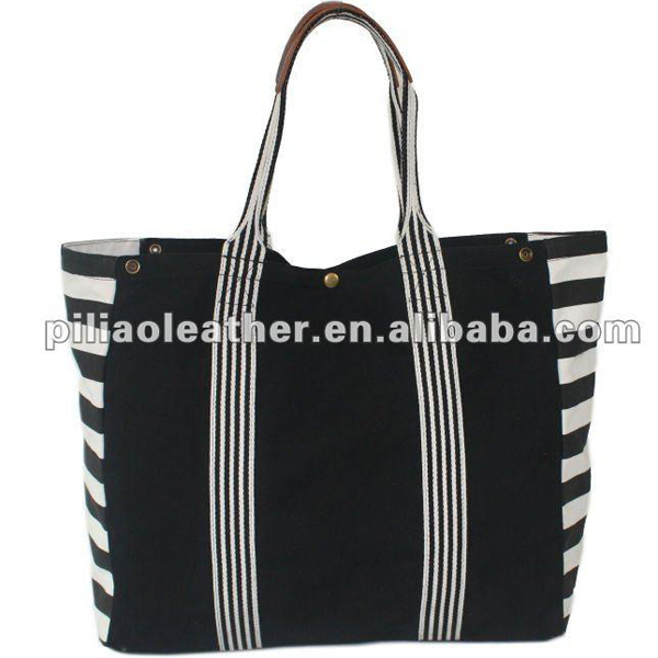 16oz standard size European style wholesale canvas lady tote bag
