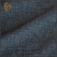 2016 alibaba linen interweave denim jean fabric for man jean
