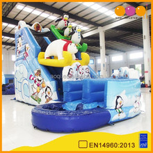 2015 new design best selling EN14960 standard inflatable water slide for amusement park