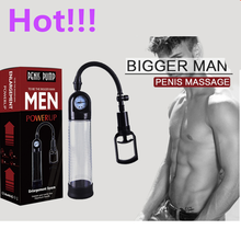 Men's gauge vacuum Penis eraction/extender/ Pump for male