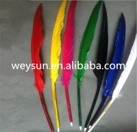 500pcs Popular goose quill pen for girls DHL Freeshipping