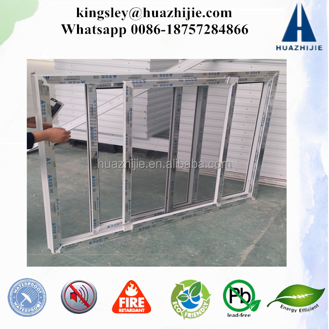 China factory made windows and doors upvc plastic material manufacturer