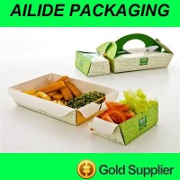 cheap disposable take away fast food paper box container price list