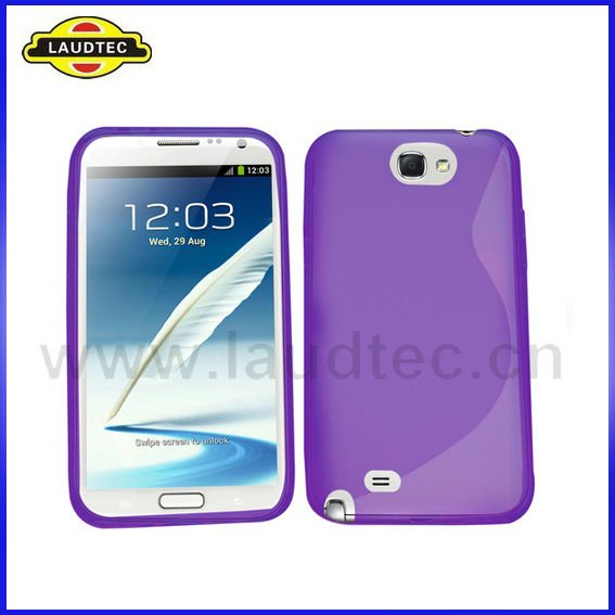 For Samsung Galaxy Note 2 N7100 S Line TPU gel case