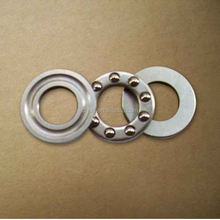 axial mini brass cage thrust ball bearing F10-18