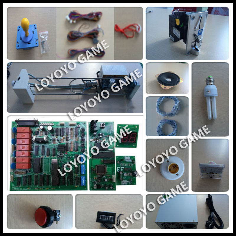 NewArrival high quality Claw Crane indoor amusement machine kits with taiwan PCB