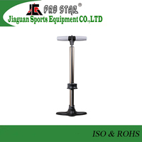 High-end Professional Aluminum Bicycle Foot Air Pump with Valve