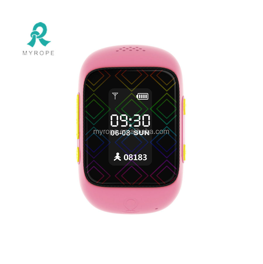 smallest size wrist watch GPS+LBS+WIFI location gps tracker kids with longest standby gps watch R12