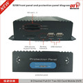 mobile dvr 8 ch D1 dvr with gps,4g,wifi double SD support 256GB most, vehicle dvr,S208-4GW