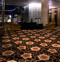 Hotel equipment Foshan factory banquet hall Axminster Carpet
