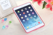 Hot sale soft dustproof urtlathin transparent Tpu pretective case for ipad mini4 ipad pro