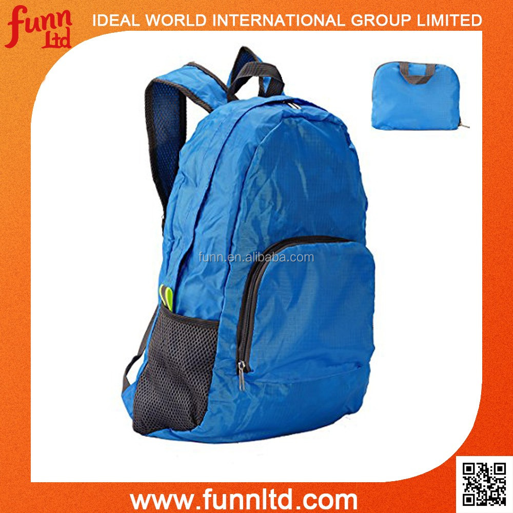 Travelling Backpack Bag - Portable Travel Folding Backpack