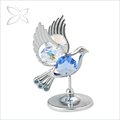 OEM Factory Blue Crystals Dove Wedding return gift