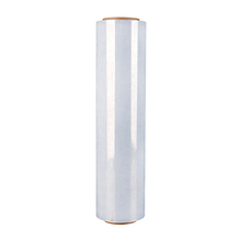 Lldpe material transparent and black hot sealing laminating stretch film roll