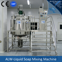Chemicals for making liquid soap mixer type mixing machine