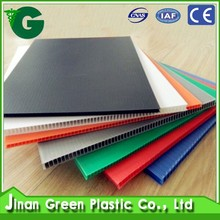 Green 2016 excellent strength high density UV-protection clear pp plastic sheet