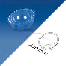 Round Plastic Ceiling Light Covers Warm White Tiered Plastic Acrylic Cake Stand Hardware With Dome