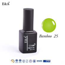 EA brand wholesale 12ml soak off uv gel nail polish OEM uv gel polish