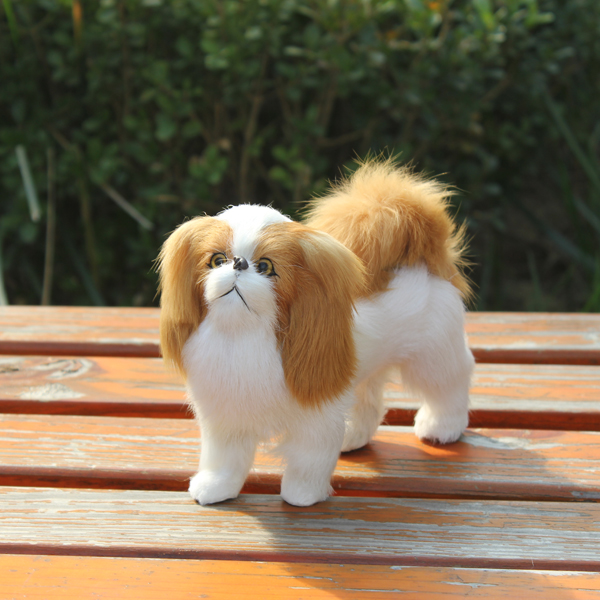 bulk realistic zoo animals plastic toy small dogs for sale