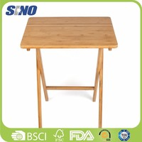 Eco Friendly Bamboo Foldable Coffee Table