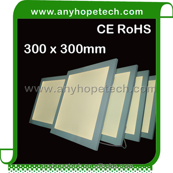 Thickness 10.4mm 30 30cm 10W 13W led guid plate