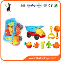 Summer sand model funny car play set plastic mini beach cart toys for children