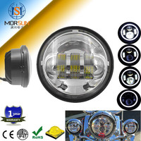 4.5'' 30w motorcycle Round high low beam led fog light for harley-davidson,passing lamp led fog light for motorcycle Harley
