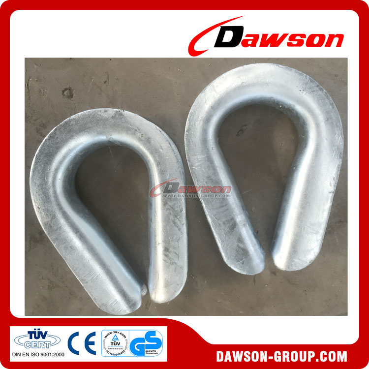G-414 Extra Heavy Wire Rope Thimbles -DAWSON GROUP LTD
