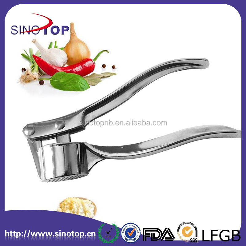 Kitchen Tools 304 Stainless Steel Easy Made Crush Cloves Ginger Garlic Mince Silcer Crusher Kit