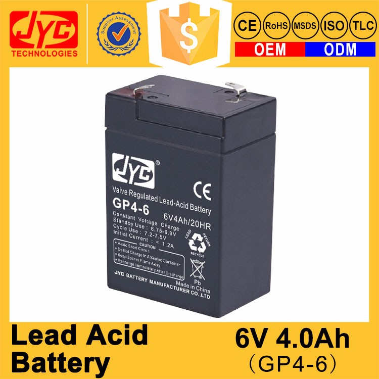 2017 Advantage Quality 6V 4Ah Valve Regulated Lead Acid Battery