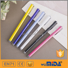 classic style gel ink stylus pen with metal body and cap factory price MD-Z9009