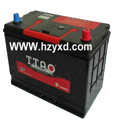 JIS standard 12V MF Japan car battery terminal car battery