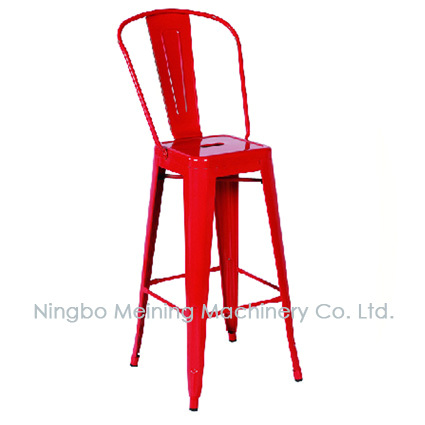 Industrial Chairs Metal Bar stool Cheap Restaurant High Back Chairs