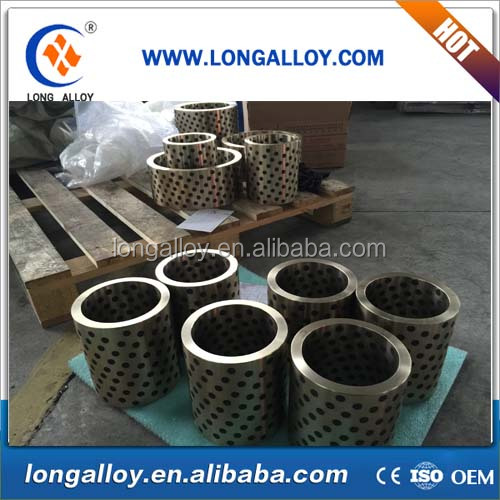 Cylindrical oilless sliding bearing ,High tensile brass ,manganese bronze bushing