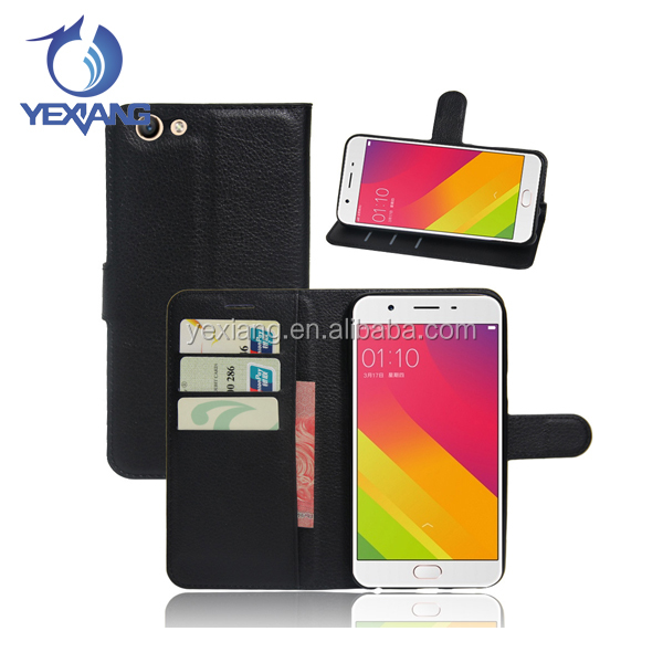 New Arrival Smartphone Accessory Cases Wallet Stand Leather Cell Phone Flip Cover For Oppo a37