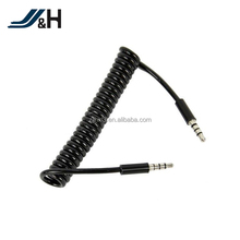 Spiral coil aux cable