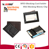 Online shopping PU cheap money clip bulk buy gift promotion wallet