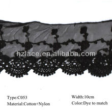 Cording embroidery Lace net embroidery lace