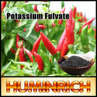 Huminrich Natural Organic 100% Soluble Super Potassium F Humate Shiny Flakes Manure
