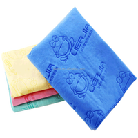 window cleaning synthetic chamois cloth