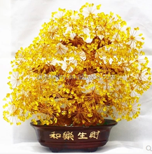 hot sale 100% beautiful natural quartz crystal lucky tree lucky tree for decoration