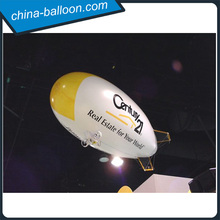 Qualified inflatable rc helium airship / rc zeppelin in high quality