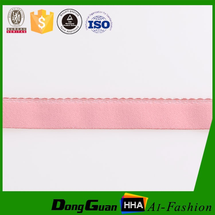 High Quality personalized Nylon Brushed Elastic Shoulder Tape For Bra Lingerie